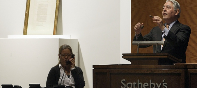 Sotheby's raises more than $12 mln from Russian art sales